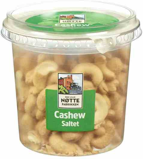 Bilde av Den Lille Nøttefabrikken cashew salte 180gr.