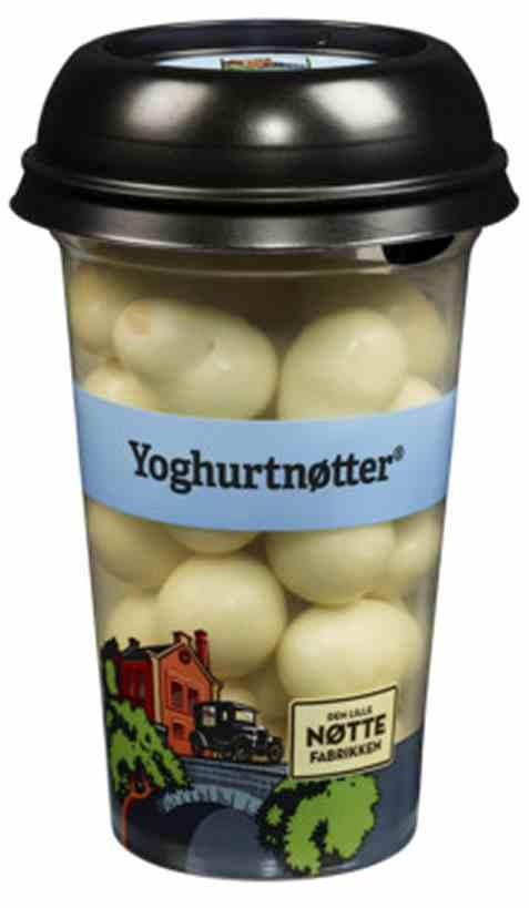 Bilde av Den Lille Nøttefabrikken yoghurtnøtter 150gr.