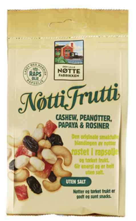 Bilde av Den Lille Nøttefabrikken Nøtti Frutti 190gr.