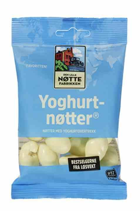 Bilde av Den Lille Nøttefabrikken Yoghurtnøtter 90gr.