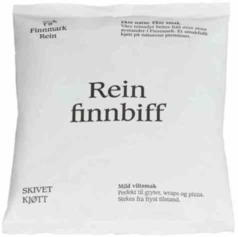 Bilde av Finnmark Rein finnbiff 400gr.