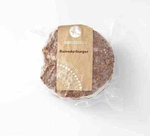 Bilde av Rørosrein reinsdyr burger 600gr.
