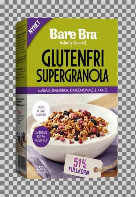 Bilde av BareBra Supergranola glutenfri.