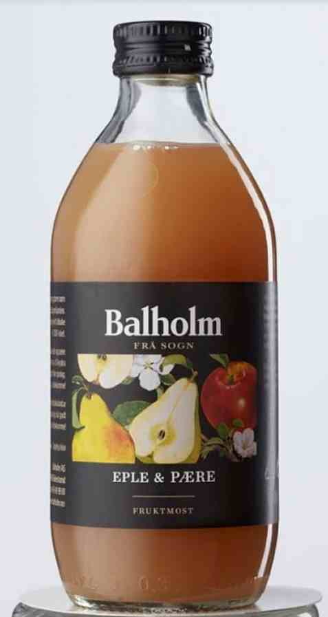Bilde av Balholm eple pære 33cl.