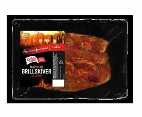 Bilde av Gilde Marinert grillskiver med krydder 650gr.