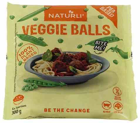 Bilde av Naturli veggie balls soyabasert.