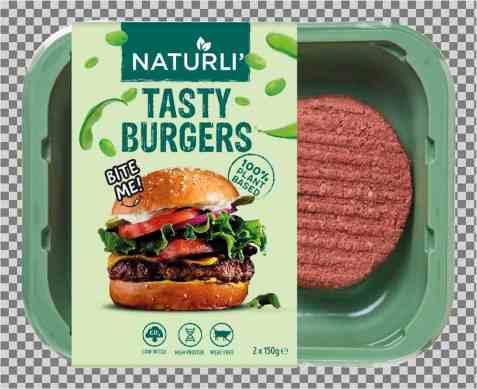 Bilde av Naturli tasty burgers 300gr.
