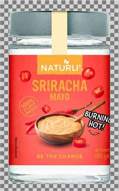 Bilde av Naturli Sriracha mayo 180gr.