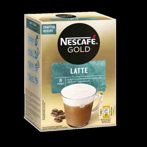 Bilde av Nescafe gold latte.