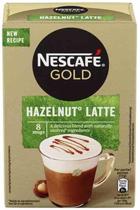 Bilde av Nescafe gold Hazelnut latte.