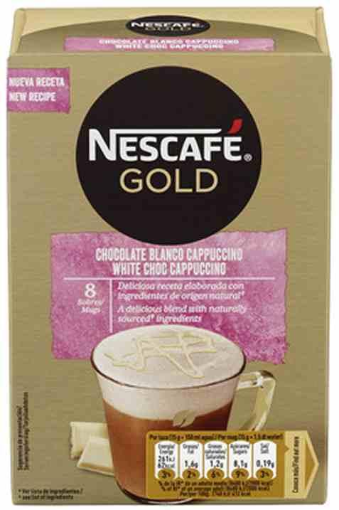 Bilde av Nescafe gold White Choc Cappuccino.