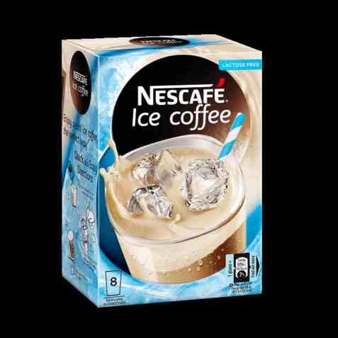 Bilde av Nescafe gold ice coffee.