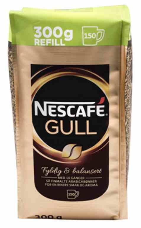 Bilde av Nescafe gull refill 300gr.