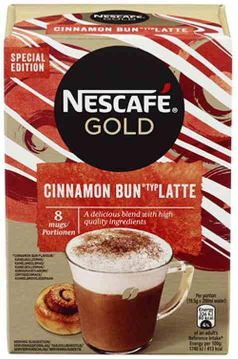 Bilde av Nescafe gold cinnamon bun latte 156gr.