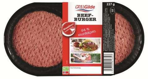 Bilde av Gilde Beef Burger.