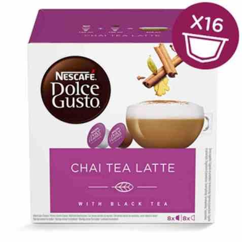 Bilde av Nescafe Dolce Gusto chai tea latte 16 kapsler.