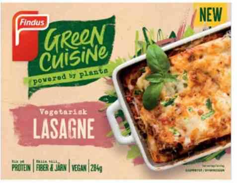 Bilde av Findus green cuisine vegetarlasagne 450gr.