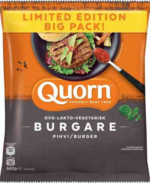 Bilde av Quorn burgere 640gr.