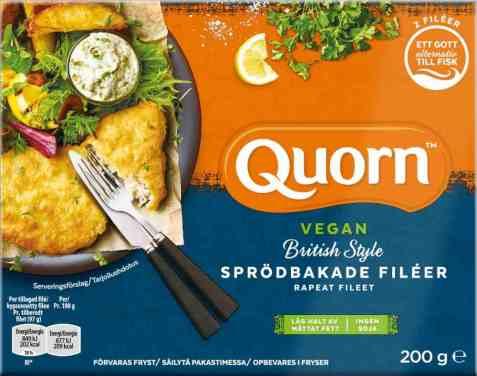 Bilde av Quorn sprøbakte fileter vegan 200gr.