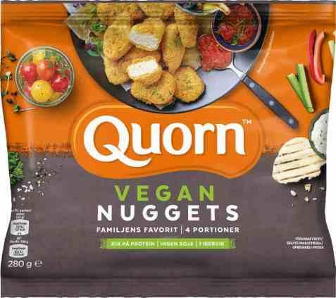 Bilde av Quorn vegan nuggets 280gr.