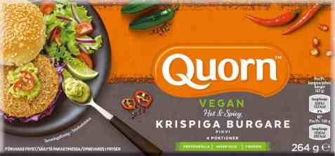 Bilde av Quorn vegan krispige burgere 264gr.