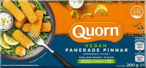 Bilde av Quorn vegan panerede pinner 200gr.