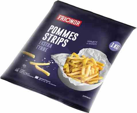 Bilde av Frionor pommes strips 1kg.