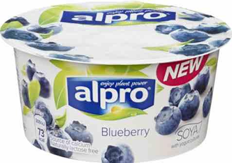 Bilde av Alpro soyayoghurt Blåbær 150gr.