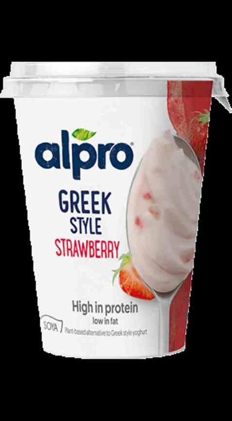 Bilde av Alpro greek style jordbær 400gr.