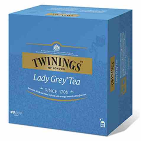 Bilde av Twinings lady grey 100 poser.