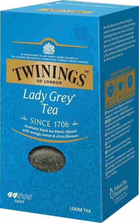 Bilde av Twinings lady grey 200 gr.