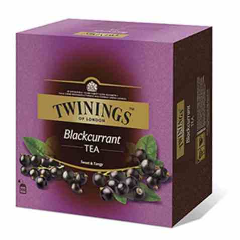 Bilde av Twinings Solbær te 100 poser.