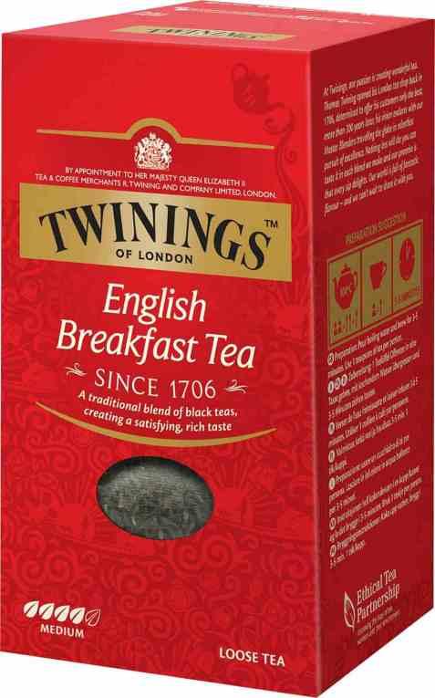 Bilde av Twinings English Breakfast tea 200 gr.