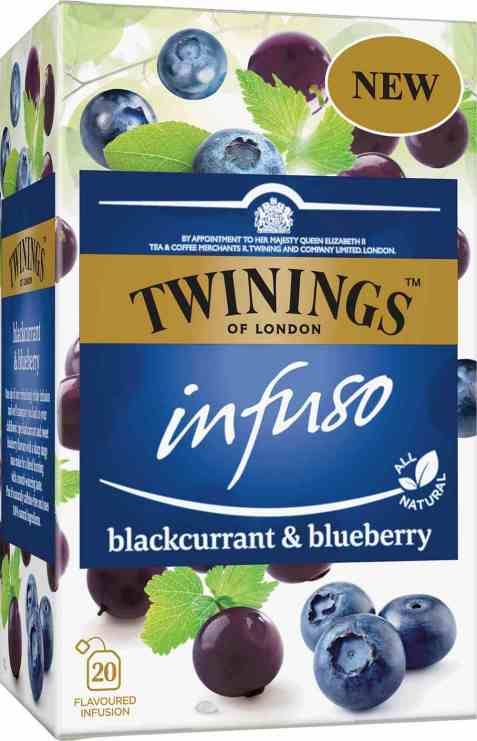 Bilde av Twinings Infuso Blackcurrant&Blueberry.