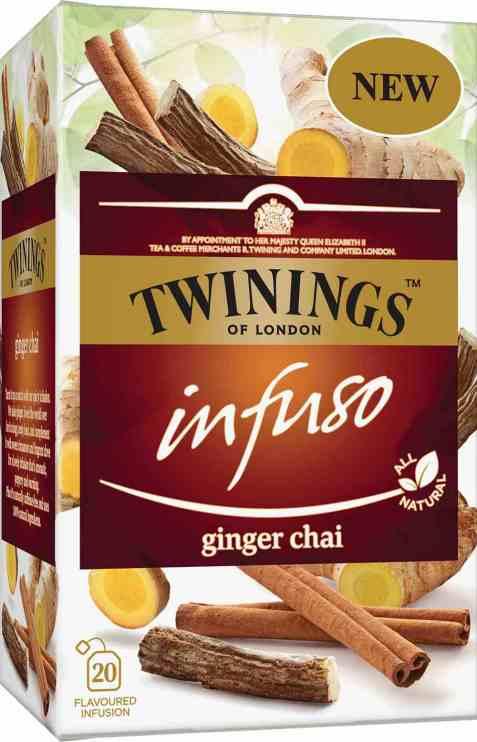 Bilde av Twinings Infuso Ginger Chai.
