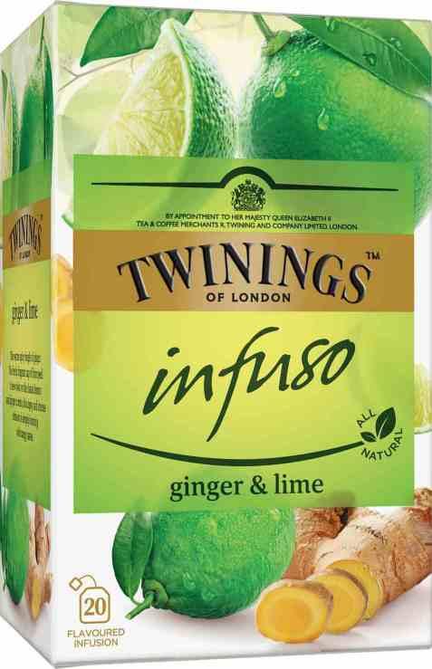Bilde av Twinings Infuso ginger and lime.