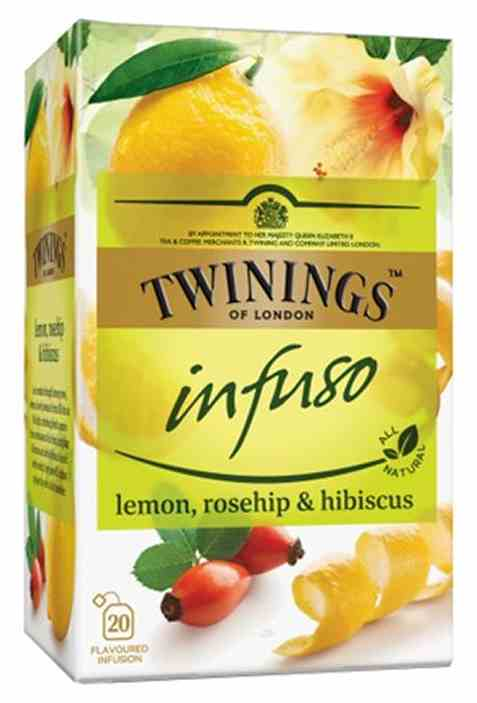 Bilde av Twinings Infuso Lemon, Rosehip&Hibiskus.