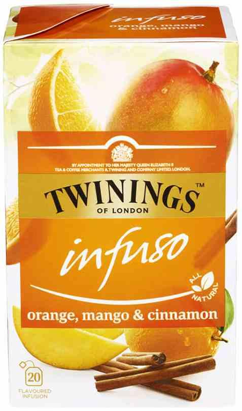 Bilde av Twinings Infuso Orange, Mango&Cinnamon.