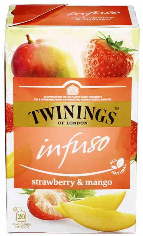 Bilde av Twinings Infuso Strawberry&Mango.