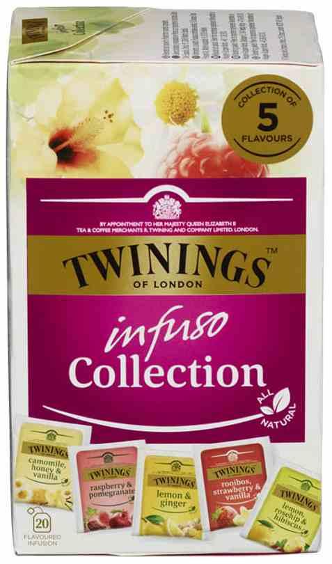 Bilde av Twinings Infuso Collection.