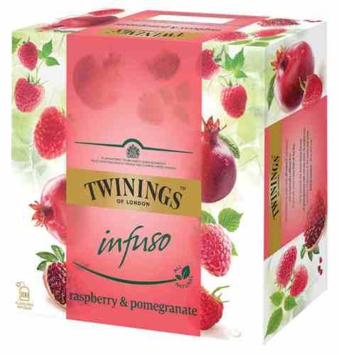 Bilde av Twinings Infuso Raspberry&Pomegranate 100 poser.