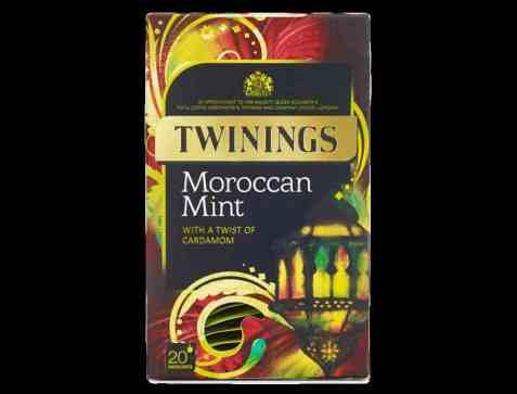 Bilde av Twinings moroccan mint tea.
