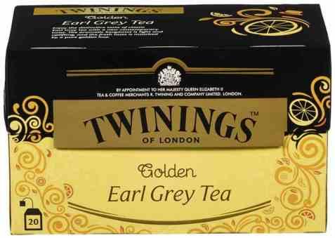 Bilde av Twinings earl grey golden 20 poser.