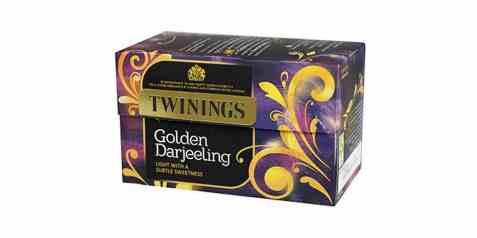 Bilde av Twinings golden darjeeling 20 poser.