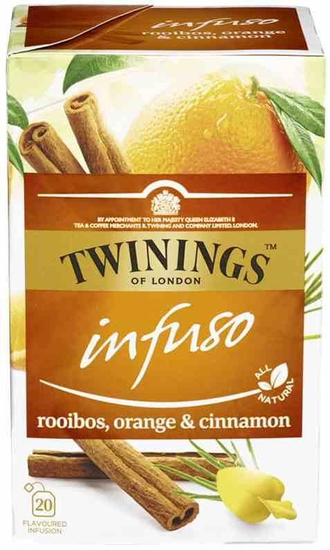 Bilde av Twinings Infuso Rooibos appelsin.