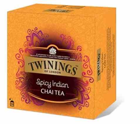 Bilde av Twinings Spicy Indian Chai 100 poser.