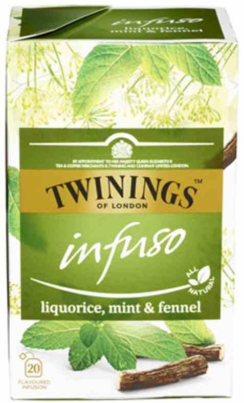 Bilde av Twinings Infuso Liquorice, Mint&Fennel.