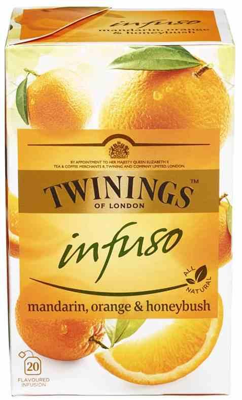 Bilde av Twinings infuso mandarin appelsin og honning.