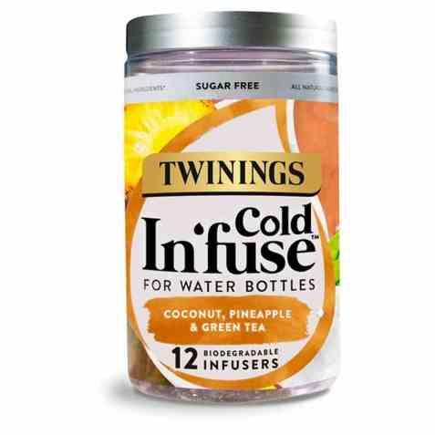 Bilde av Twinings Cold Infuse Coconut, Pineapple&Green Tea.