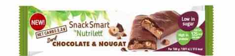 Bilde av Nutrilett bar chocolate and nougat 40gr.